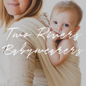 Two Rivers Babywearers Button
