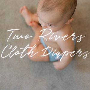 Two Rivers Cloth Diapering Button
